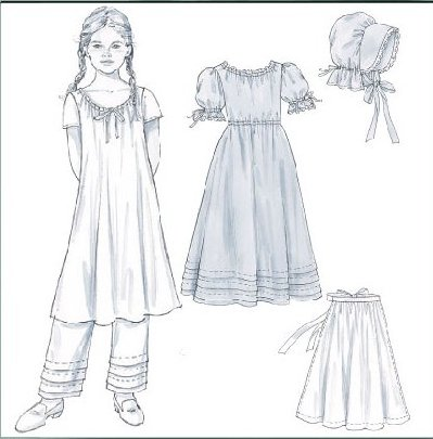 Flower girl for Laura ingalls wilder wedding dress