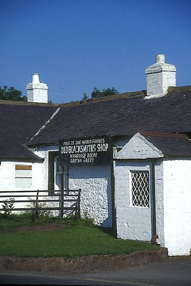Gretna Green blacksmith shop, Freefoto, Ian Britton